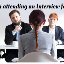 Tips on attending an Interview for Fresher