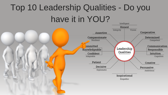 Top 10 Leadership Qualities - Do you have it in YOU?