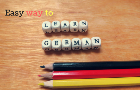 Easy way to learn German